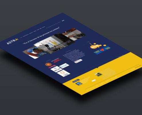 Astra Cancún | Diseño Web