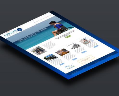 Cancun Accesible | Diseño Web