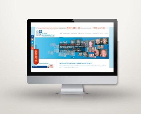 Cancun Cosmetic Dentistry   Diseño Web