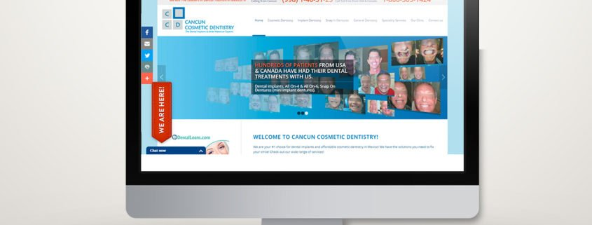 Cancun Cosmetic Dentistry | Diseño Web