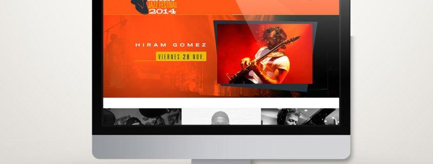 Riviera Maya Jazz Festival 2014 | Diseño Web