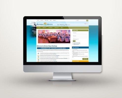 Riviera Maya Meetings   Diseño Web