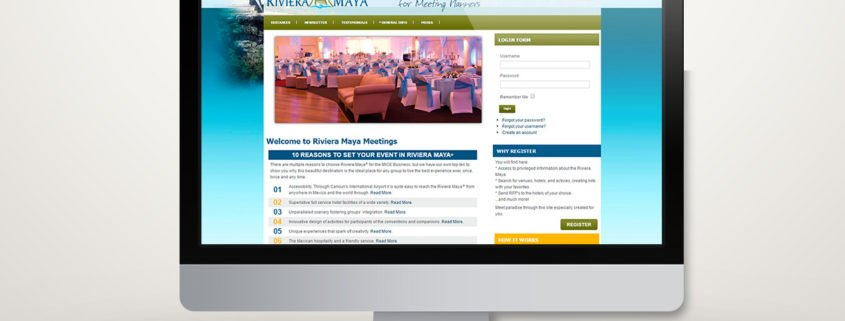Riviera Maya Meetings | Diseño Web
