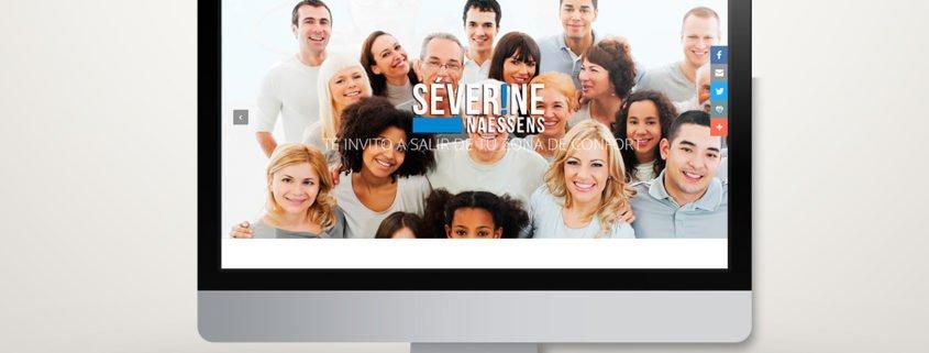 Severine Naessens | Diseño Web