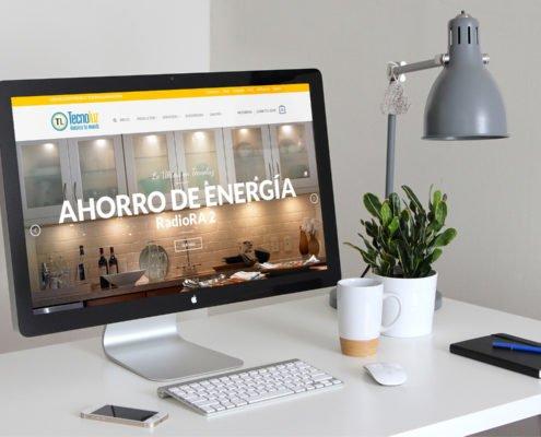 Tecnoluz | Diseño Web